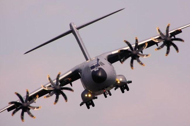 A400M plane