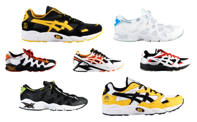 asics happy chaos collection