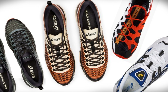 ASICS lifestyle sneakers happy chaos collection