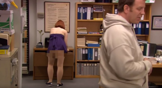 best naked moments the office compilation