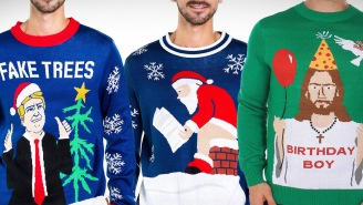 The 19 Best Ugly Christmas Sweaters For 2019: Deez Nuts, Human Santapede, And More!