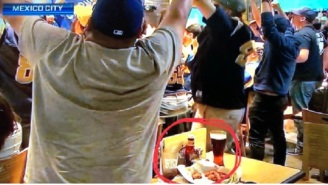 ESPN Kept Cutting To An 'Alboa Bar' In Mexico City During Tonight's 'MNF' Broadcast That Was Obviously Just A Buffalo Wild Wings