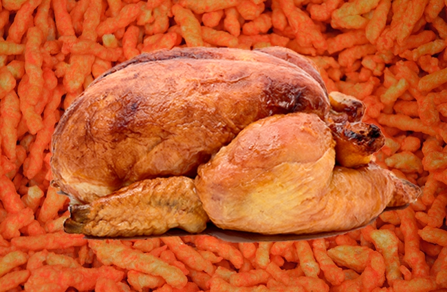 flamin hot cheetos turkey
