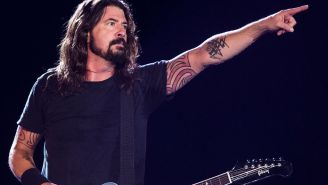 Dave Grohl Pulled A Bro Move And Cooked Up A Ton Of BBQ For Firefighters Battling The Blaze In California