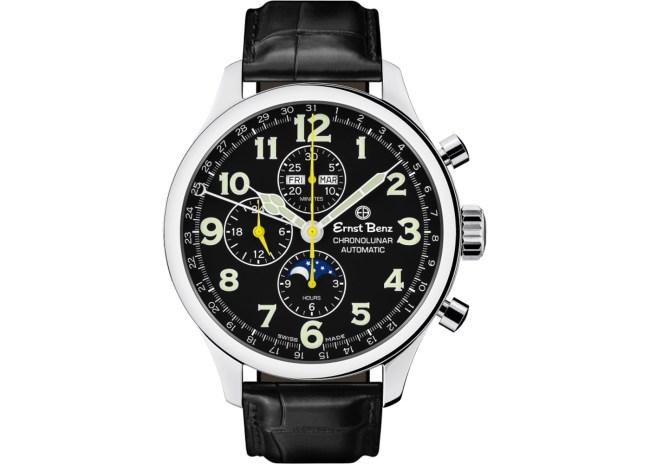 Ernst-Benz-Chronolunar-GC10311-Black-front