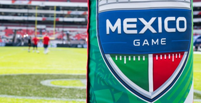 Field Chiefs-Rams Game Mexico Bad