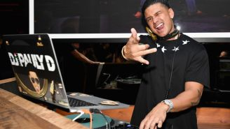 Pauly D Just Dropped A Half Million On A Massive 36-Carat Pendant Of His Own Face