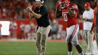 Houston Coach Major Applewhite And Top NFL Prospect Ed Oliver Get In Heated Argument On Sideline Over…A Coat