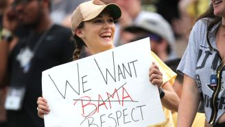 Oddsmaker Predicts Alabama Would Absolutely Brutalize Undefeated UCF
