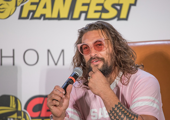 """SAN ANTONIO, TX - NOVEMBER 10:  Actor Jason Momoa attends """"Aquaman Live"""" during Celebrity Fan Fest at the JW Marriott San Antonio on November 10, 2018 in San Antonio, Texas.  (Photo by Rick Kern/WireImage)"""