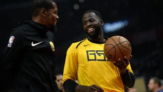 Draymond Green's Mom Thinks Kevin Durant Is To Blame For Her Son's Blunder That Led To Heated Exchange