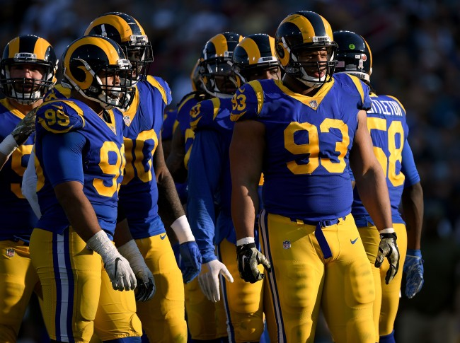 Ndamukong Suh and Los Angeles Rams