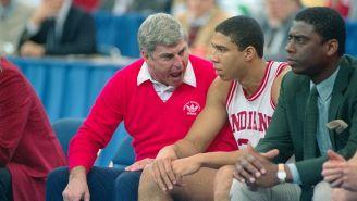 Former IU Player Dan Dakich Reveals Real Reason Bob Knight Threw A Chair Onto The Court In 1985