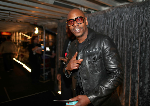 NEW YORK, NY - JANUARY 28:  Comedian Dave Chappelle attends the 60th Annual GRAMMY Awards at Madison Square Garden on January 28, 2018 in New York City.  (Photo by Christopher Polk/Getty Images for NARAS)