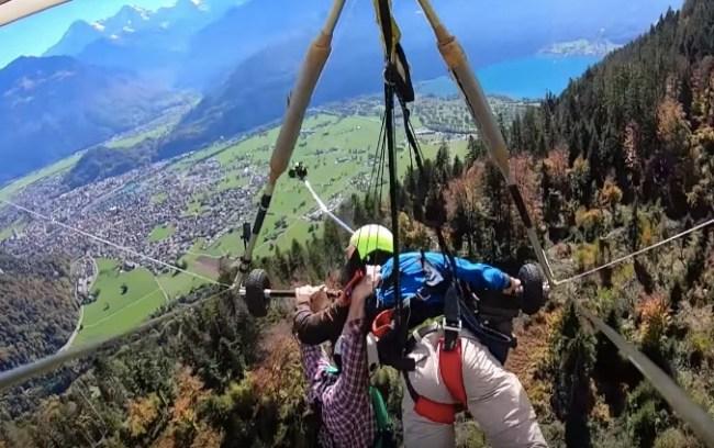 hang gliding catastrophe
