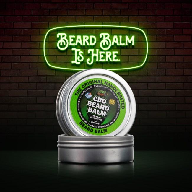 hemp bombs cbd beard oil balm