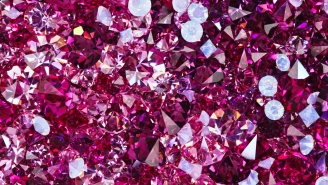 Can You Tell This 'Virtually Unheard Of' Pink Diamond Expected To Go For $50 Million At Auction From A Fake One At A Mall Kiosk?