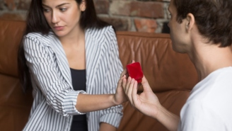 Bride-To-Be Blasts Fiancé For Buying Laughably Tiny Engagement Ring That Looks Straight Out Of A Store Brand Cracker Jack Box