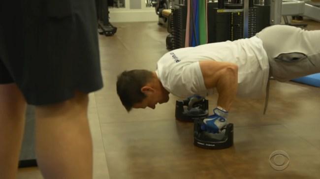 James Corden Mark Wahlberg 4AM Workout