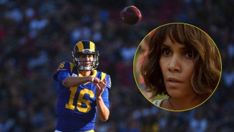 Halle Berry Tweets At Jared Goff After Incredible MNF Performance To Add Gas To The Love Story We Need