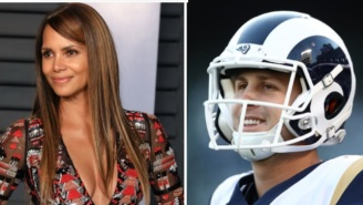 Jared Goff Shoots His Shot At Halle Berry After She Asks Why The Rams Named An Audible After Her