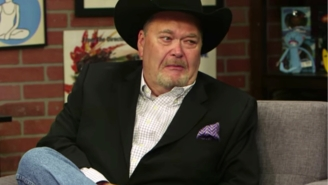 Jim Ross Shares Gnarly Facial Injury, Won't Let It Get In The Way Of Watching Sooners Football, Though