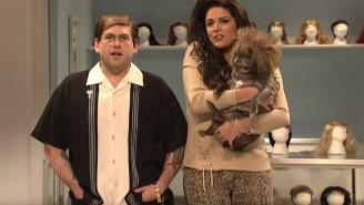 Jonah Hill Hosts 'SNL' Becomes 6-Year-Old Benihana Enthusiast, Pug Wig Salesman, 'America's Got Talent' Contestant'