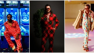 These Outrageous '70s Christmas Jump Suits Are The Most Diesel Way To Deck The Halls This Season