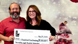 Couple Finds $1.8 Million Lottery Ticket Only Days Before It Expired While Cleaning Up House For Thanksgiving