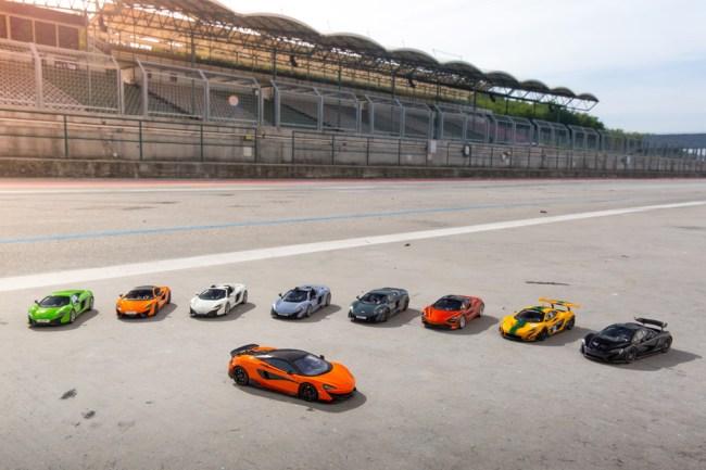 McLaren Scale Model Supercars