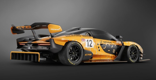 McLaren Senna GTR Track Only Hypercar