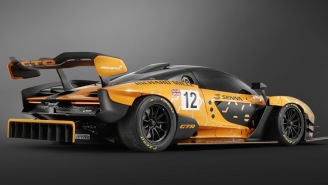 This Track-Only McLaren Senna GTR Hypercar Is One Of The Most Badass Vehicles On The Planet