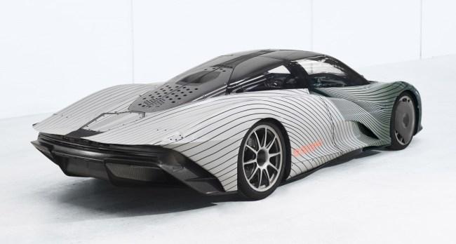 McLaren Speedtail Prototype Albert