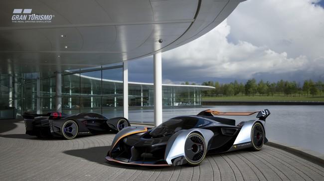 McLaren Video Game Ultimate Vision BC-03 Hypercar