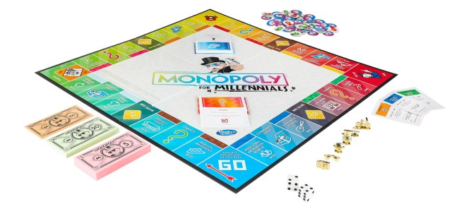 monopoly for millennials board game hasbro reactions
