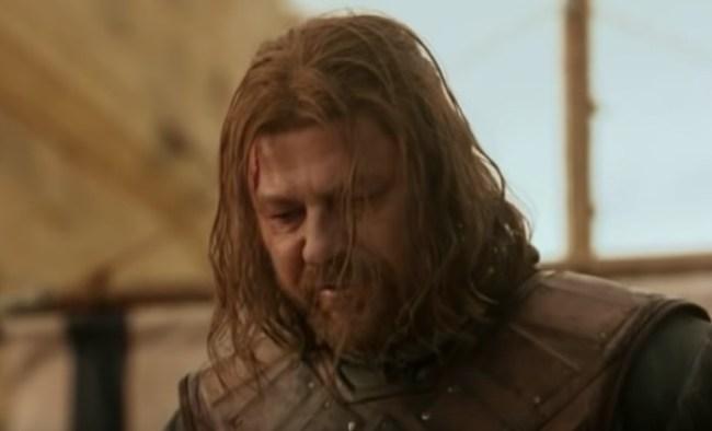 Sean Bean Ned Stark