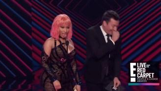 Nicki Minaj Shoots Her Shot At Michael B. Jordan With A Blatantly Suggestive Remark On Live TV