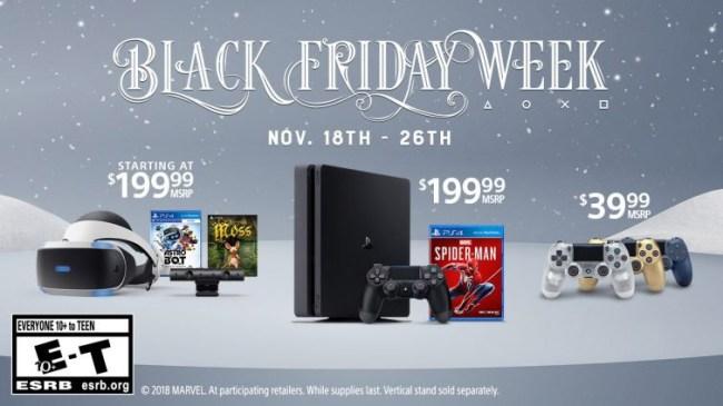 PlayStation Black Friday Deals 2018