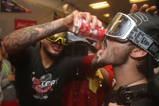 red sox world series alcohol tab