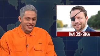 SNL: Pete Davidson Mocks Navy SEAL For Losing An Eye While Serving In Afghanistan, Addresses Ariana Grande Breakup