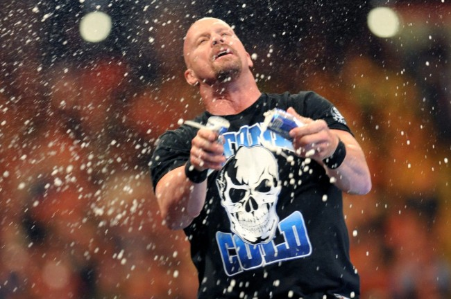 Stone Cold' Steve Austin Says He Hasn't Actually Quit Drinking Beer And All  Is Right In The Universe - BroBible