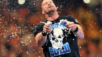 'Stone Cold' Steve Austin Says He Hasn't Actually Quit Drinking Beer And All Is Right In The Universe