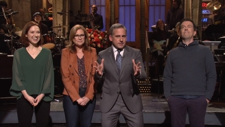 Steve Carell's 'SNL' Monologue Turned Into A 'The Office' Reunion Where ALMOST Everybody Wants A Reboot