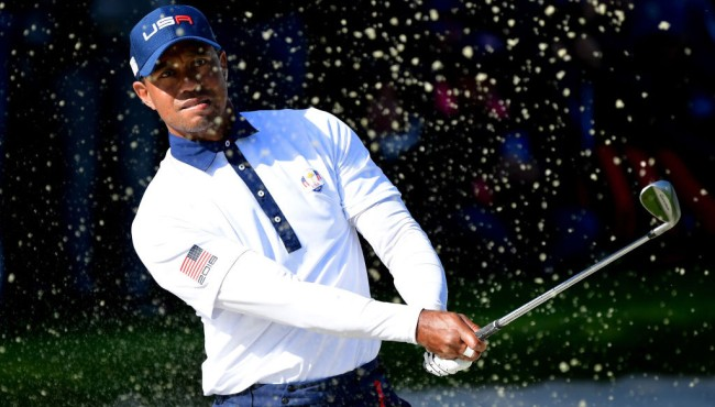 Tiger Woods Trash Talks Steph Curry