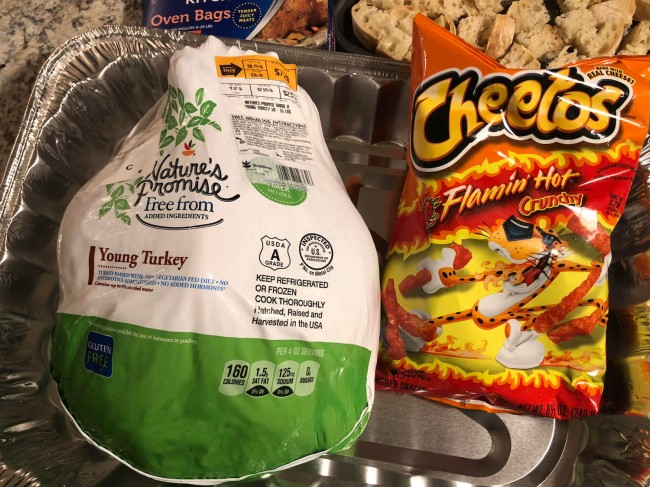flamin hot cheetos turkey