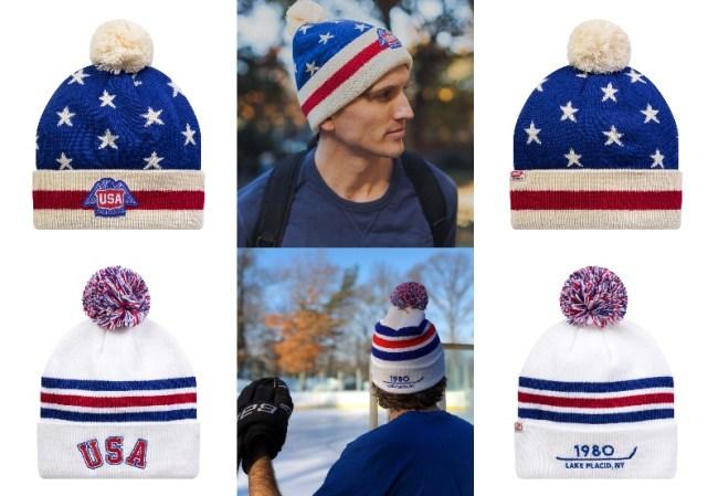 TEAM USA HOCKEY WINTER HATS