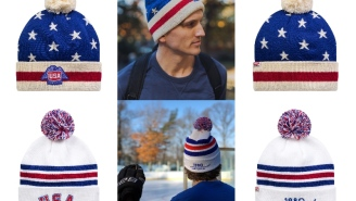 MUST OWN: Winter Hats Inspired By The 1980 'Miracle On Ice' Team And The 1976 USA Hockey Team