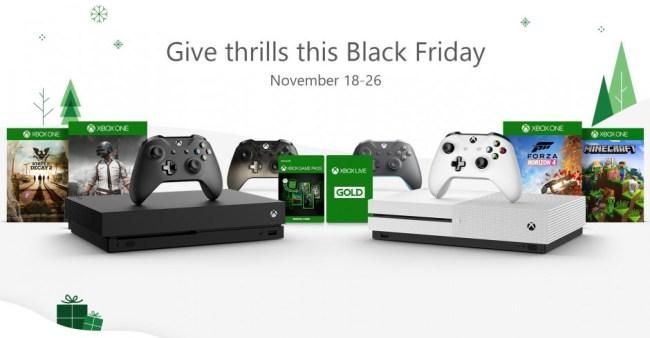 Xbox Black Friday Deals 2018