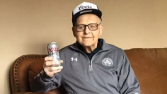 101-Year-Old WW II Veteran Says Drinking Beer Everyday Is The Secret To Long Life Gets A Surprise From Coors Light