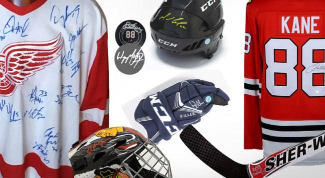 Best NHL Memorabilia Collectibles Collectors Items
